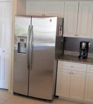 Refrigerator repair in Alameda by Top Home Appliance Repair.