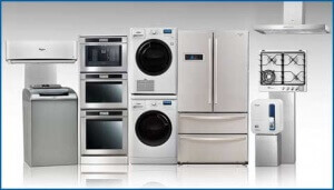 Top Home Appliance Repair here are all the appliances we can fix for you.