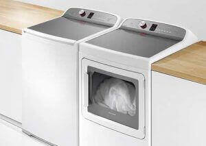 Washer Repair - Example of washer and drier.