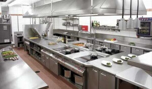 Example of a commercial kitchen that we can fix.