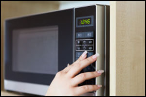 Microwave repair by Top Home Appliance Repair.
