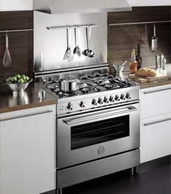 Bertazzoni range repair by Top Home Appliance Repair.